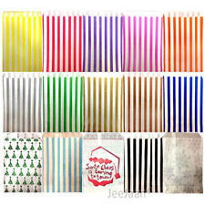 CANDY STRIPE PAPER BAGS SWEET FAVOUR BUFFET GIFT SHOP PARTY SWEETS CAKE WEDDING