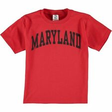 New Agenda Maryland Terrapins Youth Red Arch T-Shirt