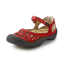 Jambu Women's WILDFLOWER Mary-Jane RED