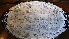 """Temp-tations ; 18"""" oval serving tray several colors"""