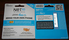 Net10 SIM KITS Activated With New Phone Numbers Based On Zip Code Multi Plans