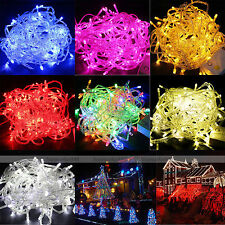 5 Colors 10M 100 LED Lights Decorative Christmas Party Festival Twinkle String