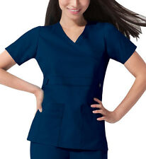 Scrub Dickies Gen Flex Youtility Mock Wrap Top 817355 Navy  FREE SHIPPING