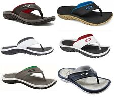 Oakley Mens SUPERCOIL Sandals Flip Flops Sizes 6 from 14, 6 Colors - NEW