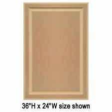 """Unfinished MDF Cabinet Doors, Square with Raised Panel by Kendor (over 24"""" H)"""