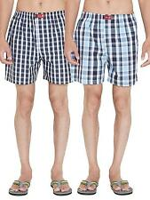 SDL by Sweet Dreams Multi Colour Check Choice Boxers -Pack Of 2 (S5ASDLMSPR503)