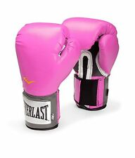 Boxing Gloves 8-12 oz Women Pro Fighting Style Everlast USA Training Heavy Duty