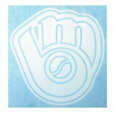 """Milwaukee Brewers High Quality Vinyl Decal 6.5"""" x 7"""" (Multiple Colors)"""