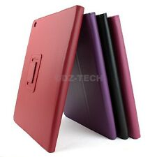 For Apple iPad Air 5th 5 Flip Wallet PU Leather Stand KickStand Hard Cover Case