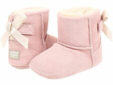 Infant Shoes UGG Australia Infant Jesse Bow Suede Boot 1006483I Baby Pink *New*