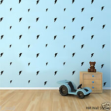 87 Lightning Removable wall stickers Vinyl decal kids room or nursery