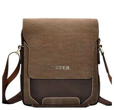 Retro Men's Canvas Cross body Briefcase Hangbag Messenger Casual Shoulder Bag