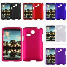 For LG L15G L16C Sunrise Lucky Colorful Rubberized Hard Matte Case Snap On Cover