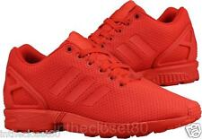 Adidas ZX Flux Triple Red Scarlet Torsion Mens Trainers All Red S78344
