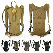 2.5L Survival Hydration System Water Bag Bladder Pouch Climbing Hiking Backpack