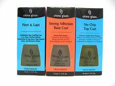 China Glaze Nail Treatment - First &  Last/No-Chip Top/Strong Base Buy 2 Get 5 %