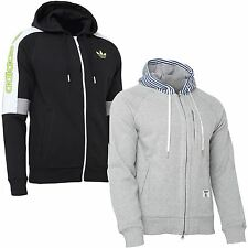 Mens adidas BW ZIP HOODIE~DM Fleece Full Zip~Originals~Jackets
