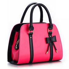 New Women's Fashion Bowknot  Handbag Clutch bag Purse Messenger Shoulder bag