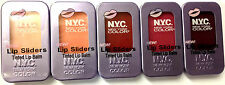 NYC NEW YORK COLOR LIP SLIDERS TINTED LIP BALM BRAND NEW **CHOOSE SHADE**
