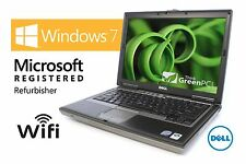 Fast Dell Latitude Laptop Computer Dual Core 2GB WiFi DVD Windows 7 Notebook HD