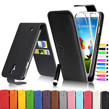 Flip New Leather Pouch Case Cover For Samsung Galaxy S4 IV i9500 / S4 MINI I9190
