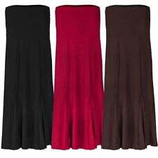 LADIES MAXI SKIRT PARTY OR CASUAL WOMENS FULLY LINED LONG SKIRT