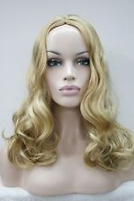 New sexy no bangs skin top wig long wavy synthetic hair women' wigs select color