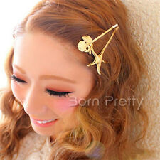 1Pc Cute Shell Starfish Hair Clip Pretty Side Clip Fashion Hairpin Jewelry