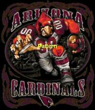 Arizona Cardinals Mascots, Helmets etc. Cross Stitch Pattern. Paper ver. or PDF