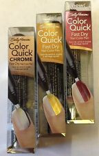 SALLY HANSEN  COLOR QUICK FAST DRY NAIL ART COLOR PEN *CHOOSE COLOUR*