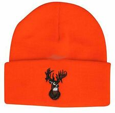 Outdoor Cap Blaze Watch Cap w/Cuff w/Embroidered Deer Head KW03DH
