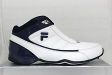 Men's Fila DLS Change The Game Basketball White/PeaCoat/MSilver Foam Technology
