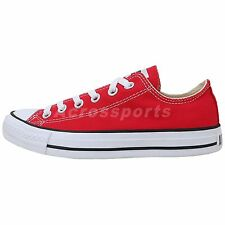 Converse All Star OX Chuck Taylor Red White Unisex Canvas Classic Shoes M9696C