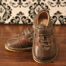 Boys Toddler Brown Squeaky Sneaker Shoes, Sizes 3, 4, 5, 6, 7, 8, 9