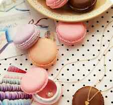Storage Boxes Cute Mini Macarons Candy Color Jewelry Earring Box Outing Gift