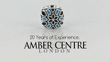 GENUINE PANDORA STERLING SILVER S925 ALE-CATHEDRAL ROSE CHARM-791374ENMX