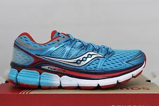 Saucony Women's Triumph ISO S10262-5 Blue Red Brand New in Box