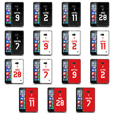 OFFICIAL LIVERPOOL FC LFC SHIRT NEW 2015/16 HARD BACK CASE FOR MICROSOFT PHONES