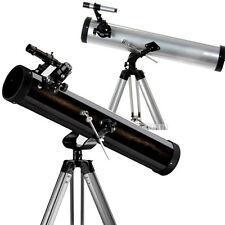 TECHME 525MM 76MM REFLECTOR TELESCOPE MAGNIFICATION ASTRONOMICAL PERFORMANCE NEW