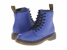 Junior Shoes Dr. Martens Delaney Leather Boot 15382462 Wild Blue *New*