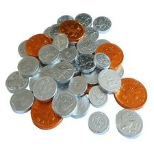 Mixed Milk Chocolate Foiled Covered Pence Money Coins Sweets 2p 5p 10p 20p 50p