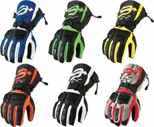 Arctiva Mens Comp Insulated Long Gauntlet Waterproof Insulated Snowmobile Gloves