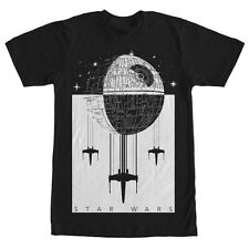 Star Wars Death Star Battle Mens Graphic T Shirt