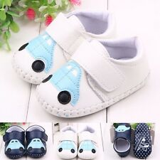 Toddler Baby Boy Soft Sole Crib Shoes Little Car Sneakers Shoes 0-18 Months