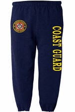US Coast Guard sweatpants Men's size us coast guard sweats sweat pants navy blue