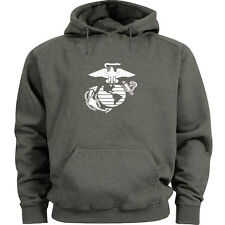 USMC hoodie Men's size US Marines hooded sweatshirt marine corps sweats top