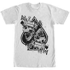 Lost Gods Death Ace of Spades Mens Graphic T Shirt
