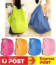 New 3 Way Nylon Foldable Travel Shoulder Storage Cross Bag Backpack Multipurpose