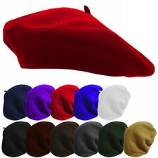 Elegant 1Pcs Women Warm Winter Wool  Beret French Artist Beanie Hat Ski Cap Hat