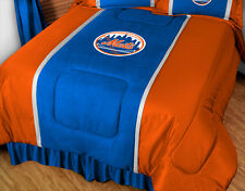 NEW YORK METS SIDELINES COMFORTER &  TOSS PILLOW